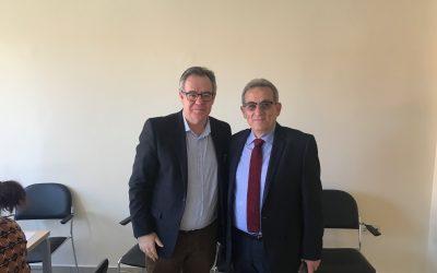 Συγχαρητήρια του Αλ. Κοντού στον Αχιλλέα Λιούτα για έγκριση του σχεδίου εξυγίανσης της ΕΑΣΤ