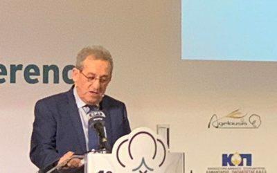 Ομιλητής στο 1ο Πανελλήνιο Συνέδριο για το βαμβάκι ο Αχιλλέας Λιούτας